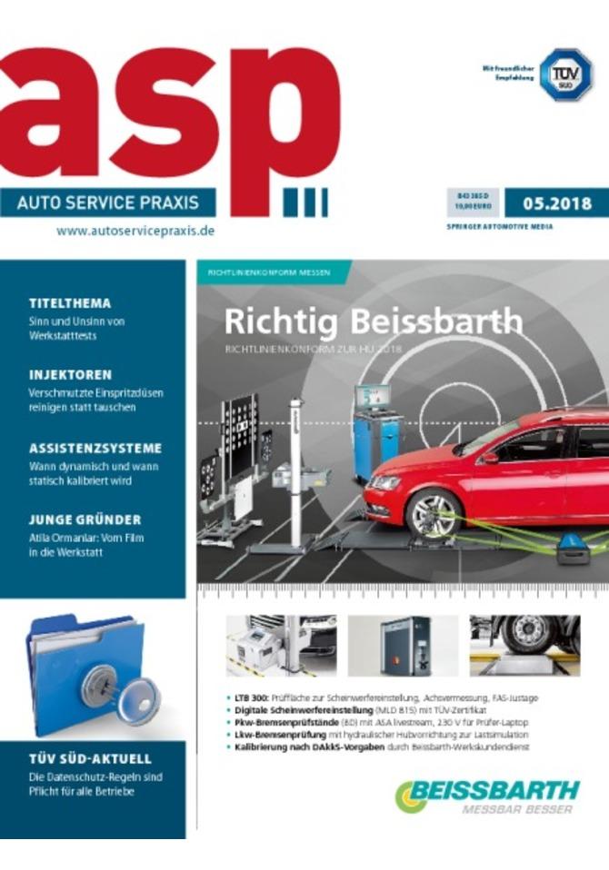 asp AUTO SERVICE PRAXIS - Mini-Abo online kaufen im Springer